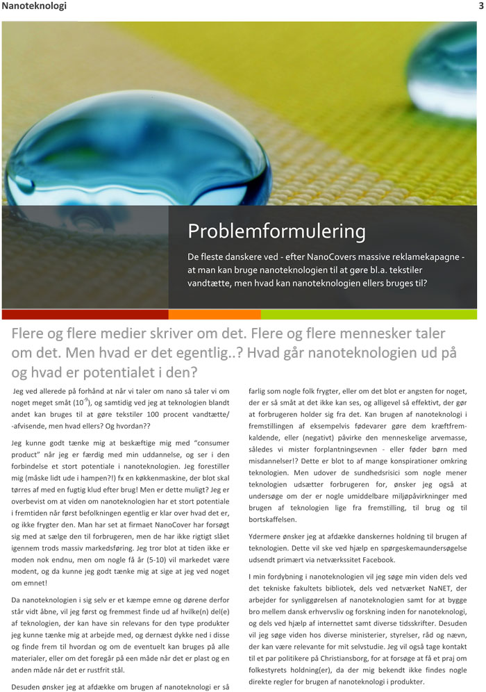 nanotechnology and their uses in chemoprevention essay Nanoparticles are now being used in the manufacture of scratchproof eyeglasses, crack- resistant paints, anti-graffiti coatings for walls, transparent sunscreens, stain-repellent fabrics, self-cleaning windows and ceramic coatings for solar cells nanoparticles can contribute to stronger, lighter.